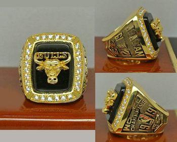 1991 NBA Championship Rings Chicago Bulls Basketball World