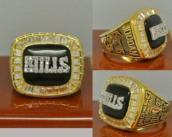 1992 NBA Championship Rings Chicago Bulls Basketball World