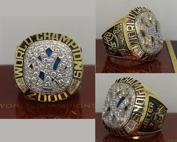 2000 MLB Championship Rings New York Yankees World Series Ring