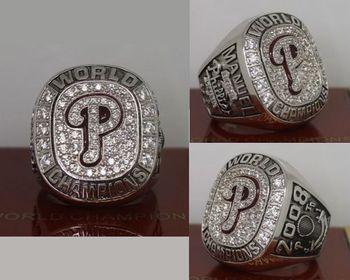 2008 MLB Championship Rings Philadelphia Phillies World Series