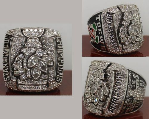 2010 NHL Championship Rings Chicago Blackhawks Stanley Cup