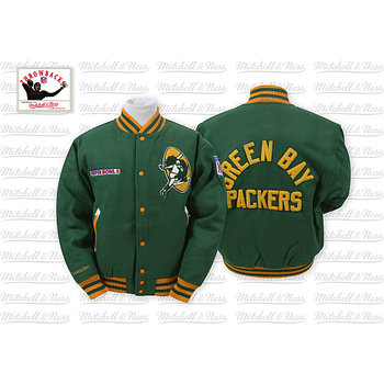 Mitchell & Ness Green Bay Packers Halfback Jacket
