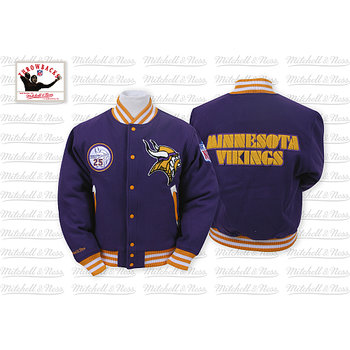 Mitchell & Ness Minnesota Vikings Halfback Jacket