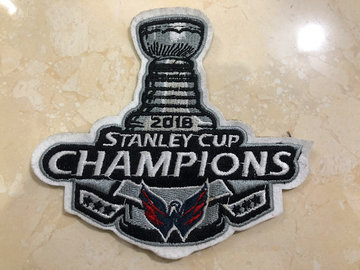 2018 Stanley Cup Champions Patch