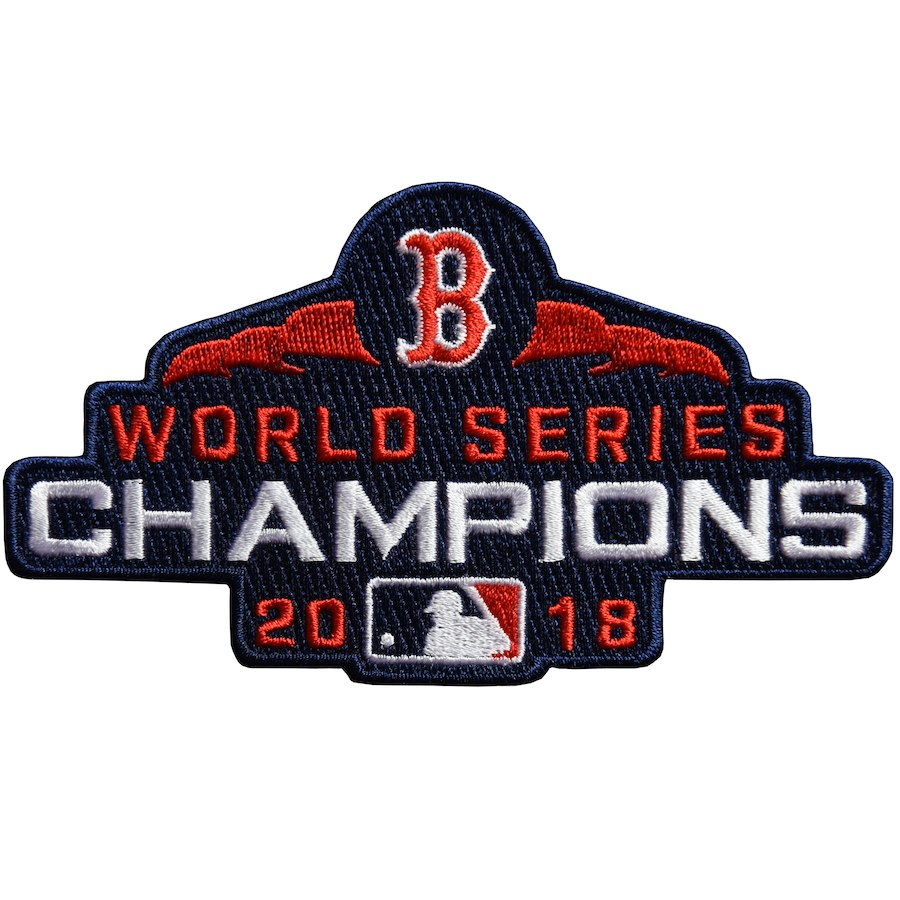 2018 World Series Champions Patch