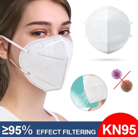 Anti-Virus KN95 Face Mask--10pcs