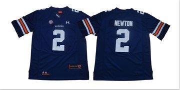 Auburn Tigers 2 Cam Newton Navy College Football Jersey
