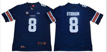 Auburn Tigers 8 Jarrett Stidham Navy College Football Jersey