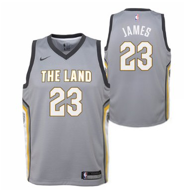 Cavaliers 23 Lebron James White Nike Swingman Jersey(With Shorts)  hot sale