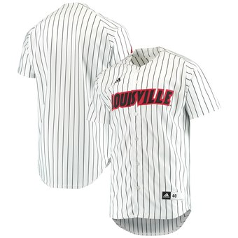 Custom Louisville Cardinals White Team Authentic Baseball Jersey