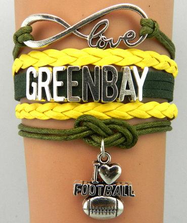 Green Bay Bracelets 1