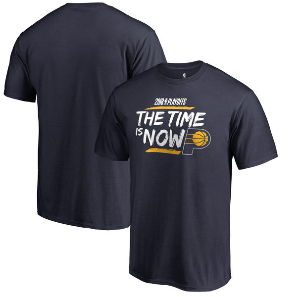 Indiana Pacers Fanatics Branded 2018 NBA Playoffs Bet Slogan T-Shirt Navy