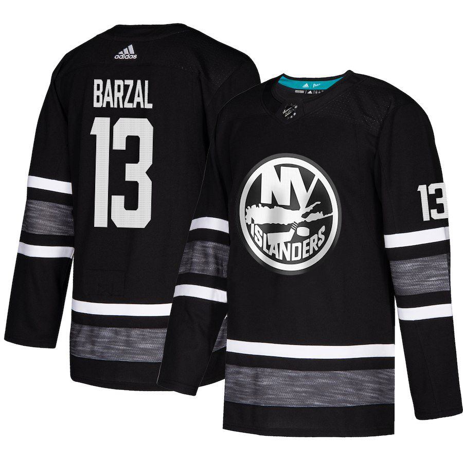 Islanders #13 Mathew Barzal Black Authentic 2019 All-Star Stitched Hockey Jersey