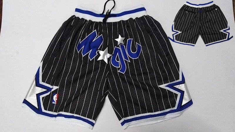 Magic Black Stitched Shorts