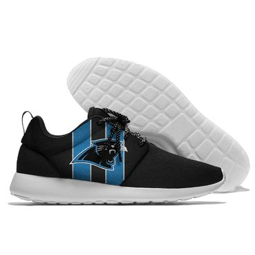 Men and women NFL Carolina Panthers Roshe style Lightweight Running shoes (4)