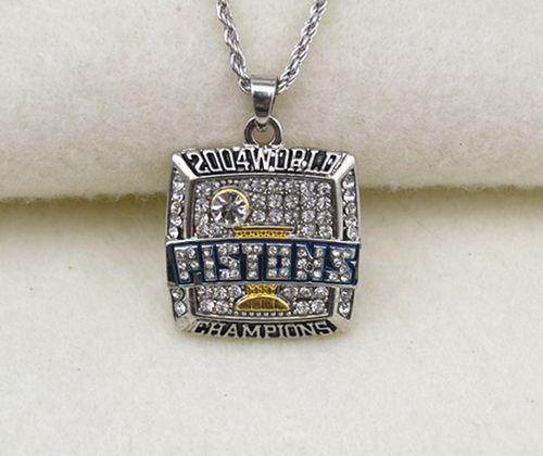 NBA Detroit Pistons 2004 World Champions Pendant