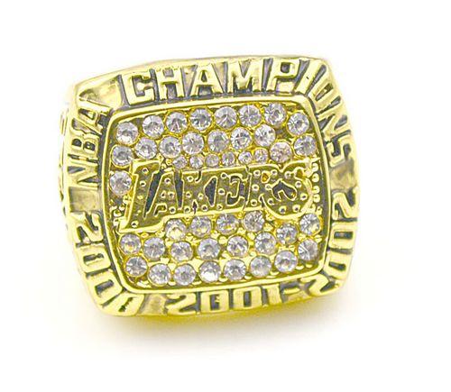 NBA Los Angeles Lakers World Champions Gold Ring_3
