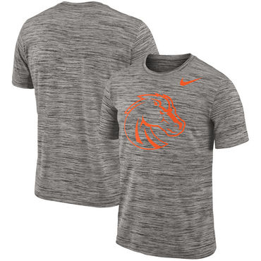 Nike Boise State Broncos 2018 Player Travel Legend Performance T Shirt