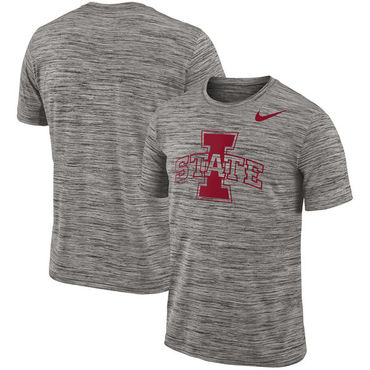 Nike Iowa State Cyclones 2018 Player Travel Legend Performance T Shirt