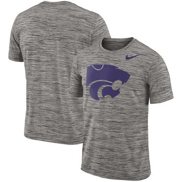 Nike Kansas State Wildcats 2018 Player Travel Legend Performance T Shirt