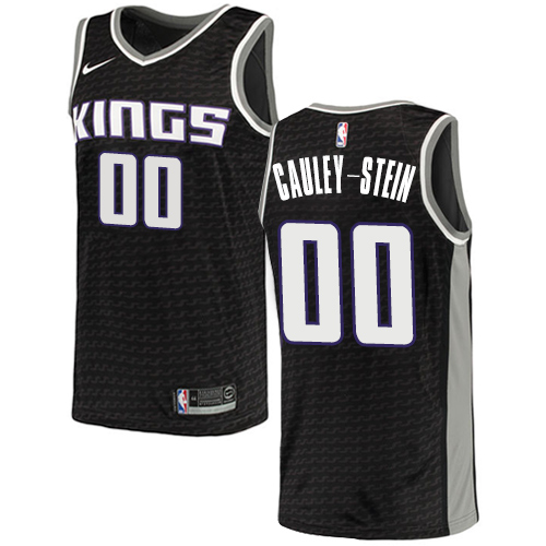 Nike Kings #00 Willie Cauley-Stein Black NBA Swingman Statement Edition Jersey