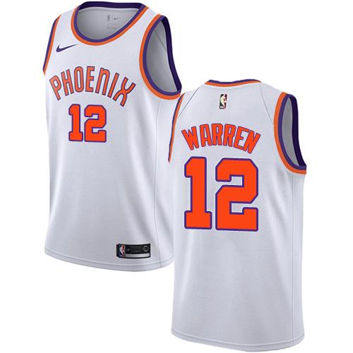 Nike Suns #12 T.J. Warren White NBA Swingman Association Edition Jersey