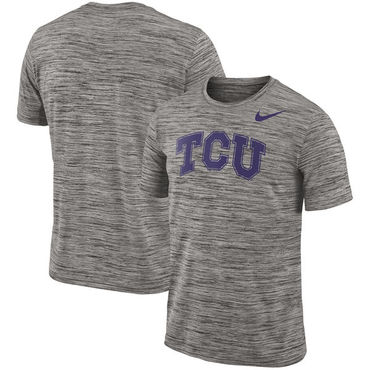 Nike TCU Horned Frogs 2018 Player Travel Legend Performance T Shirt