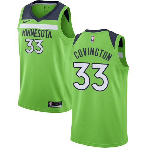 Nike Timberwolves #33 Robert Covington Green NBA Swingman Statement Edition Jersey