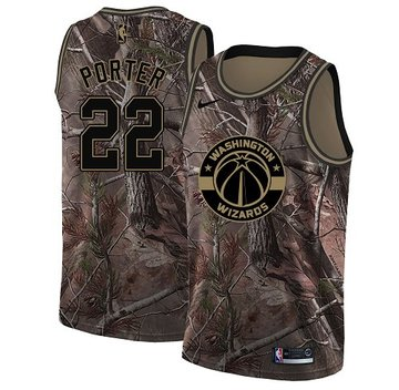 Nike Wizards #22 Otto Porter Camo Women's NBA Swingman Realtree Collection Jersey