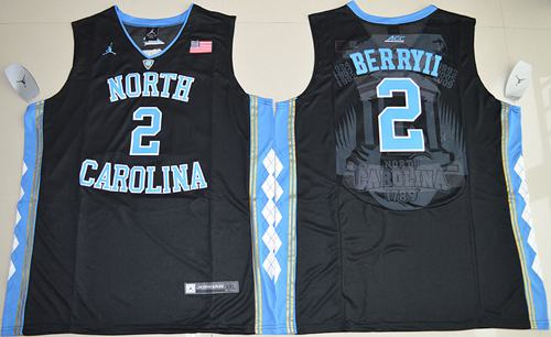 North Carolina #2 Joel Berry II Black Basketball Stitched NCAA Jersey