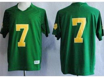 Notre Dame Fighting Irish 7 Stephon Tuitt Green Techfit NCAA Jerseys