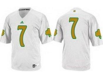 Notre Dame Fighting Irish 7 Stephon Tuitt White Techfit College Football NCAA Jerseys