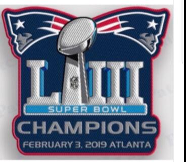 2019 Super Bowl champion Patch