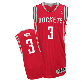 16438099684 Rockets  3 Chris Paul Red Road Stitched NBA Jersey