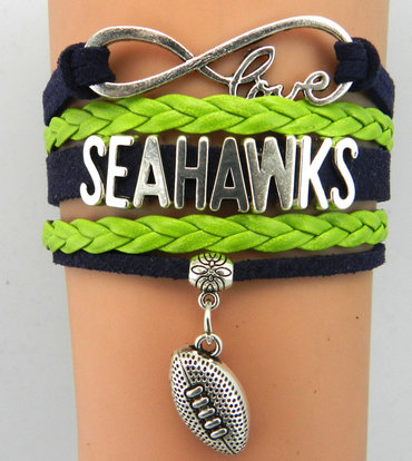 Seattle Seahawks Bracelet 1