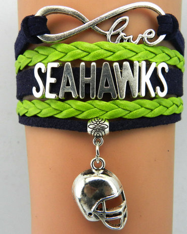 Seattle Seahawks Bracelet 5