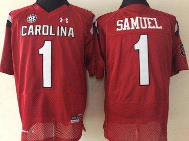 South Carolina Gamecock 1 Deebo Samuel Red College Football Jersey
