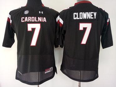 South Carolina Gamecocks 7 Jadeveon Clowney Black College Football Jersey