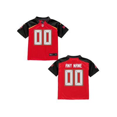 Toddlers Nike Tampa Bay Buccaneers Customized Team Color Jersey