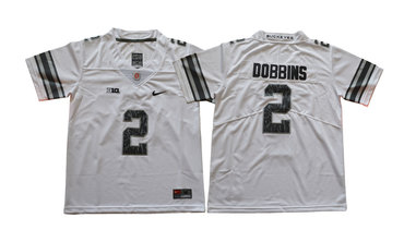 Cheap Youth Ohio State Buckeyes 16 J.T. Barrett IV White Youth College  supplier