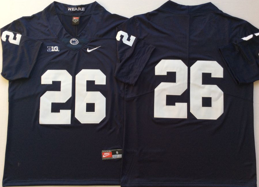Youth Penn State Nittany Lions 26 Saquon Barkley Navy Youth College Football Jersey
