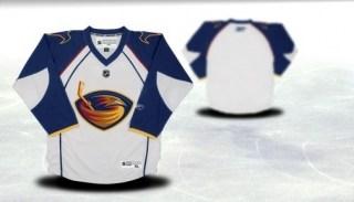 atlanta thrashers youth white jersey (blank or customized)